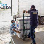 Nova remessa de vacinas contra a Covid-19 chegam ao Maranhão