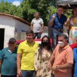 Prefeita Fabiana Mendes participa de entrega de patrulha agrícola na zona rural de Presidente Vargas