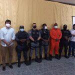 MP, Polícia Civil, Guarda Municipal, PM e Corpo de Bombeiros se reúnem com donos de bares e casa de eventos em Vargem Grande